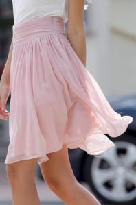 chiffon skirt1